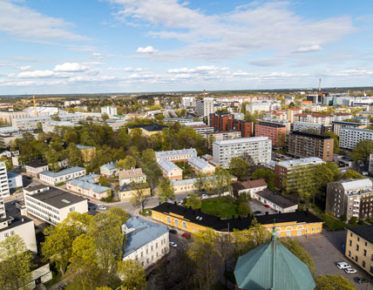 Univeristy of Turku - campus area (photo: Univeristy of Turku/University Communications))