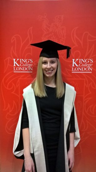 Graduation from Kings College