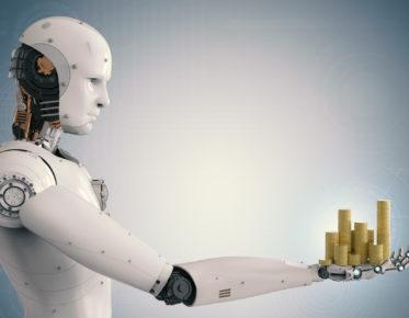 robotti tarjoaa rahaa