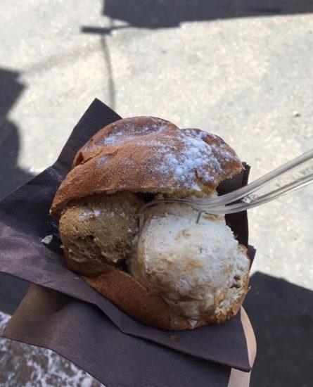 Ice cream bun