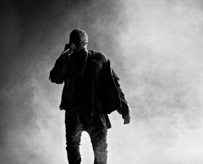 Kanye West keikalla